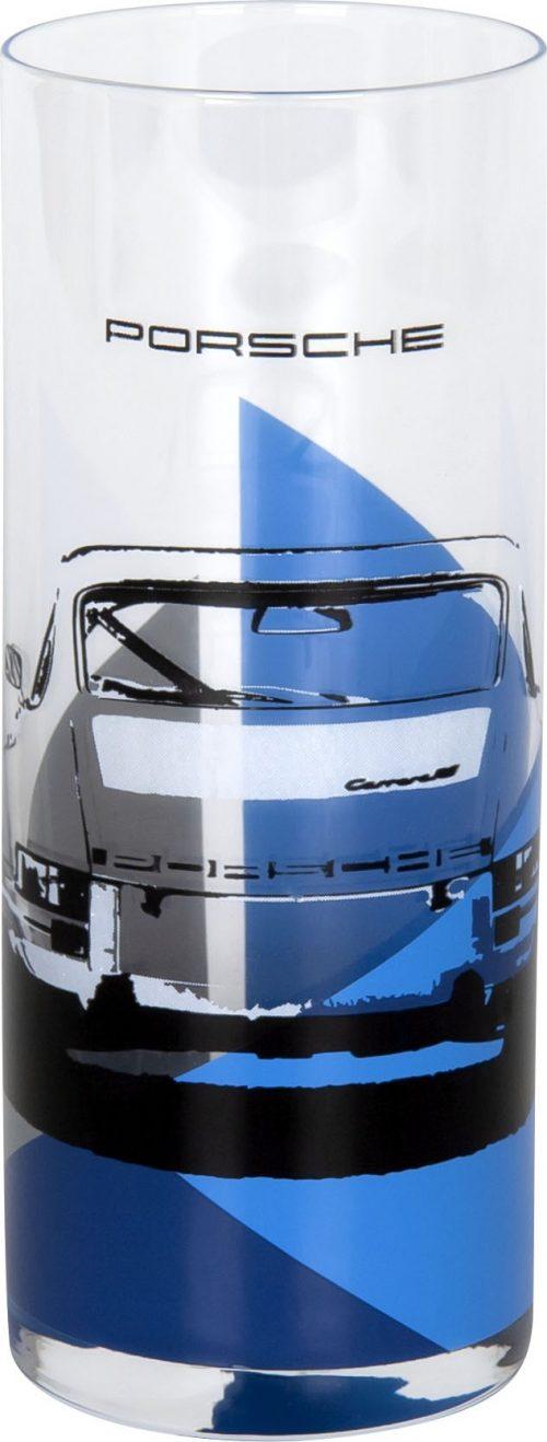 Porsche Glas Blau